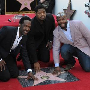 Boyz Ii Men Receive Hollywood Star