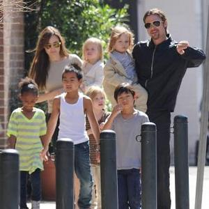 Brad Pitt; Raising Six Kids Is Hard