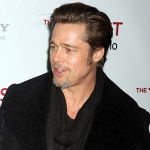 Brad Pitt Gives Kids Early Easter Treats
