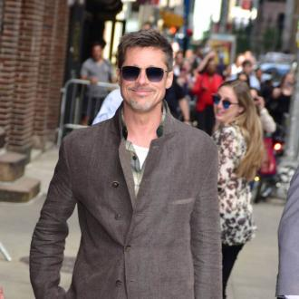 Brad Pitt smitten with college professor