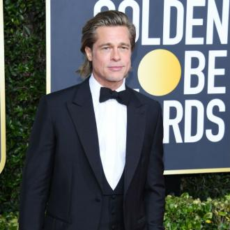 Brad Pitt front Brioni campaign