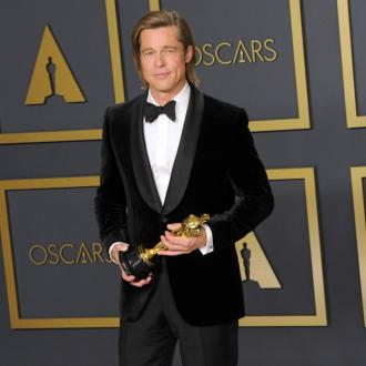 Brad Pitt congratulates graduates