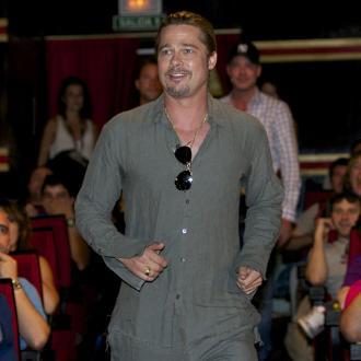 Brad Pitt Has Tank Lessons