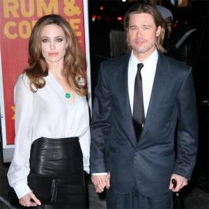 Brad Pitt And Angelina Jolie's Olympic Party