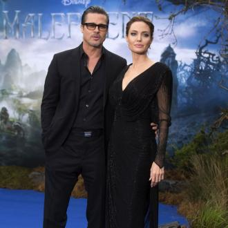 Brad Pitt and Angelina Jolie's royal tea