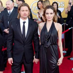 Brad Pitt And Angelina Jolie Welcomed To London By Neighbours