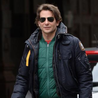Bradley Cooper Plays Air Guitar On 40th Birthday