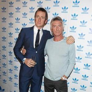 Bradley Wiggins Meets Hero Paul Weller