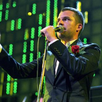 Brandon Flowers never felt like a frontman