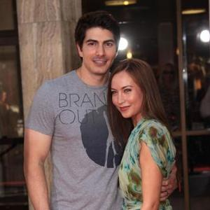 Brandon Routh And Courtney Ford Welcome A Boy