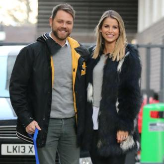 Brian McFadden and Vogue Williams still live together