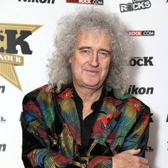 Brian May's rocking manicure