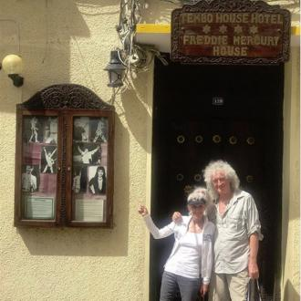Brian May makes 'pilgrimage' to Freddie Mercury's childhood home