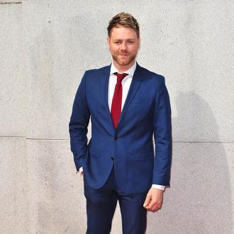 Brian McFadden supporting Kerry Katona through split