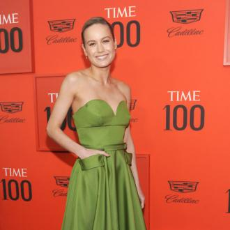 Brie Larson thanks Prada for custom gown