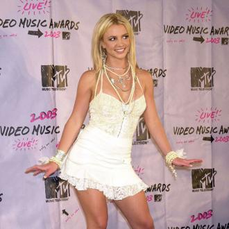 Britney Spears swept off her feet
