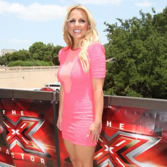 Britney Spears Very Nervous On 'The X Factor'