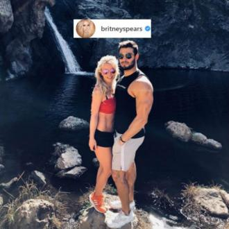 Britney Spears celebrates one year anniversary with Sam Asghari