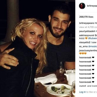 Britney Spears celebrates new year with Sam Asghari