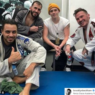Brooklyn Beckham Signs Up To Mixed Martial Arts Academy