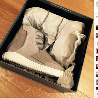 Kanye West Sends Brooklyn Beckham Birthday Trainers