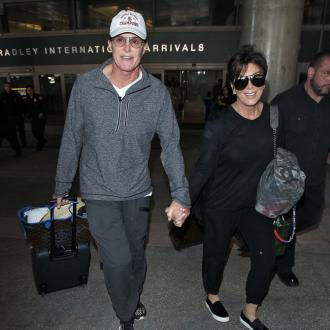 Kris And Bruce Jenner Seen Hand-in-hand
