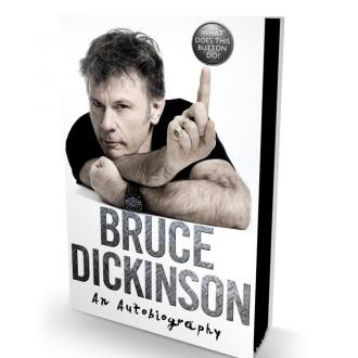 Bruce Dickinson Autobiography To Be Released In October