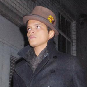 Bruno Mars Writes Two Hour Hit
