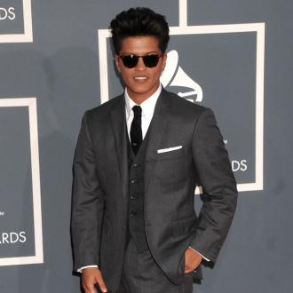 Bruno Mars honoured at Grammys