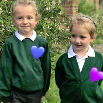 Kieran Hayler shares Bunny's first day of school