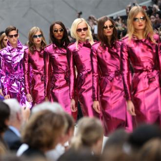 Burberry showcase 'sexy' creations at London Fashion Week