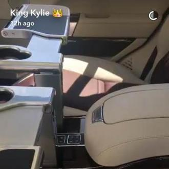 Kylie Jenner Treats Herself To Land Rover