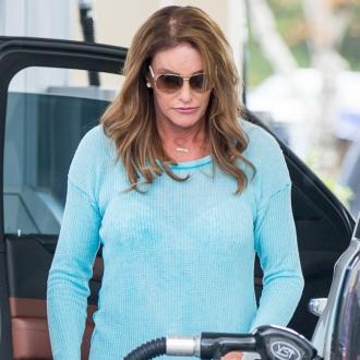 Caitlyn Jenner celebrates with Starbucks