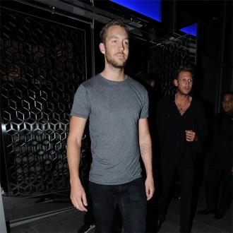 Calvin Harris shows support for Kanye West