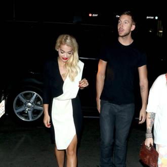 Rita Ora And Calvin Harris Argued Over Festive Season