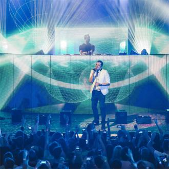 Calvin Harris Joined By John Newman At Itunes Festival