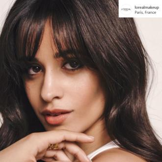 Camila Cabello is the new face of L'Oreal Paris
