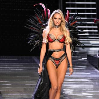 Candice Swanepoel Defends Her Baby Weight