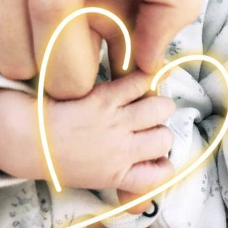 Candice Swanepoel welcomes baby boy