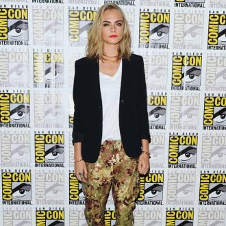 Cara Delevingne reveals Suicide Squad have group text chat