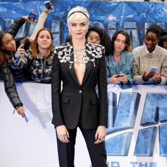 Cara Delevingne strips off for Balmain campaign