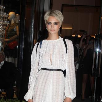 Cara Delevingne regularly takes time off to 'check in' with herself