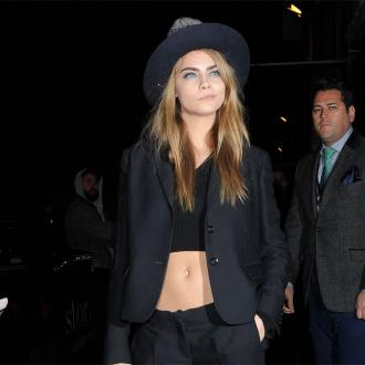 Cara Delevingne Becomes Face Of Topshop