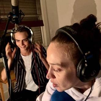 Cara Delevingne feels 'so lucky' to have a cameo on Fiona Apple's song