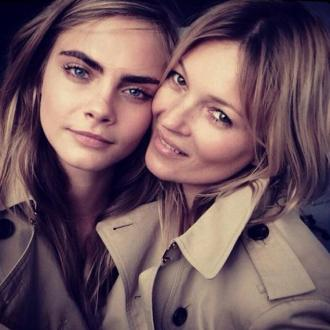 Kate Moss And Cara Delevingne Join Forces For Burberry