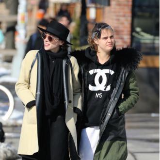 Cara Delevingne Is Still 'In Love'