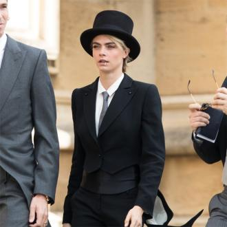 Cara Delevingne Got Royal Seal Of Approval On Wedding Outfit