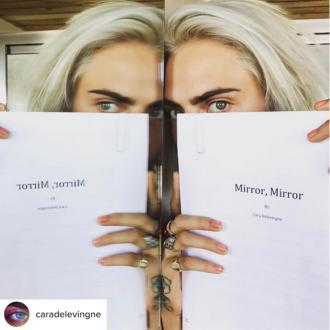 Cara Delevingne writes novel