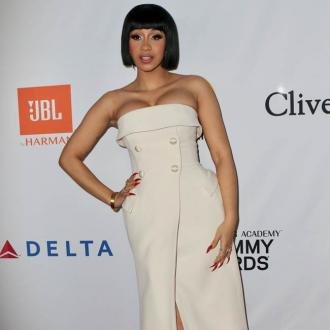 Cardi B jokes about getting 'fat'