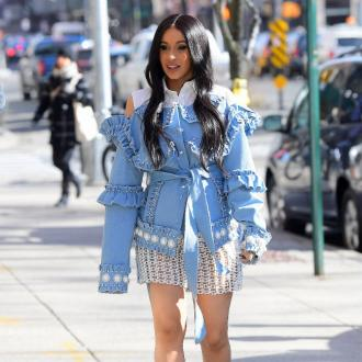 Cardi B's Feet Are Shrinking